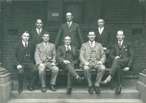 An original photograph of the HEF National Executive, circa 1960